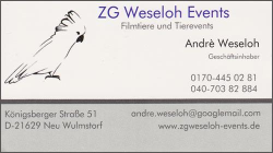 ZG Weseloh Events